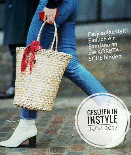 Topaktuell - Tipps für die Basttasche in InStyle.