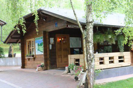 Ein wunderschöner, grüner Campingplatz in Kroatien nahe Sibenik.