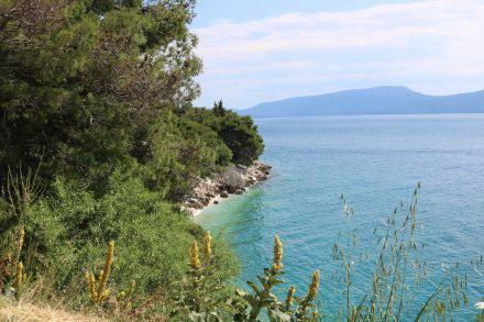 Auf dem Weg von Split nach Dubrovnik.