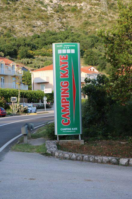 Eine tolle Alternative zu Dubrovnik - der Camping Kate in Mlini. Mit Bootsverbindung nach Dubrovnik.