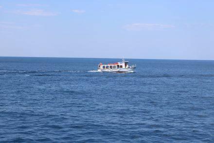 Auf der ca. 40 minütigen Überfahrt von Mlini nach Dubrovnik.