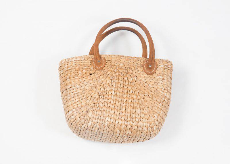 Never out of style - die Basttasche pur.