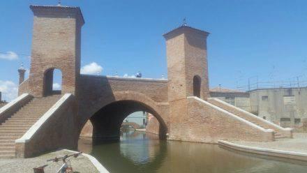 Das idyllische Comacchio in der Emilia Romagna