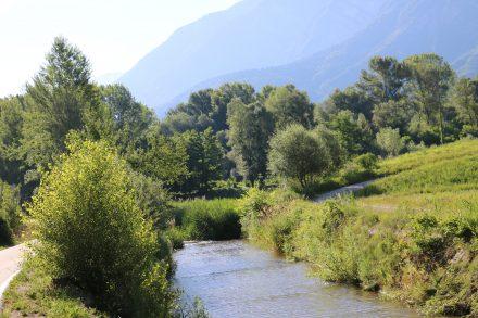 Der Brenta Radweg geht von Caldonazzo bis Bassano del Grappa.