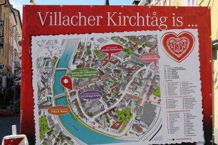 In der ersten Augustwoche findet in Villach das größte Brauchtumsfest Österreichs statt.