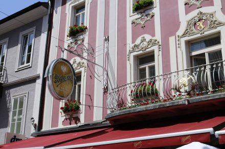 Die kaiserliche Hofbäckerei Zauner in Bad Ischl.