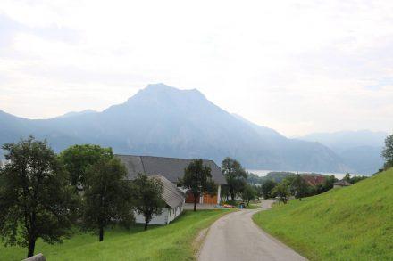 Mountainbike Tour von Altmünster über den Grasberg und durchs Aurachtal.