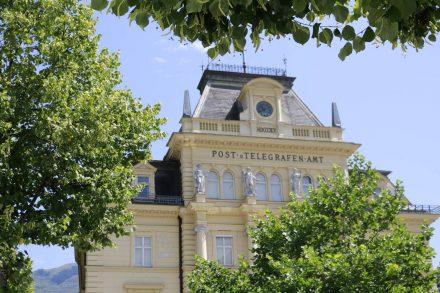 Das wunderschöne alte Postamt in Bad Ischl.