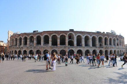 Die berühmte Arena di Verona.
