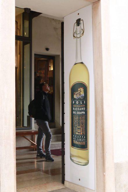 Das kleine Grappa Museum in Bassano del Grappa kann man kostenlos besichtigen.