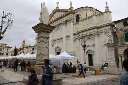 Die Kirche San Giovanni in Bassano del Grappa.