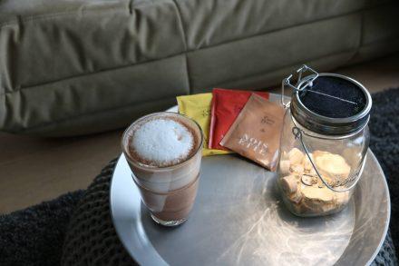 Heiße Schokolade in verschiedenen Geschmacksrichtungen.