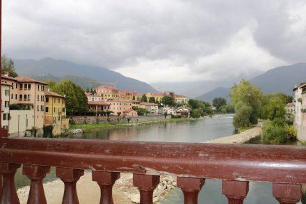 Die berühmte Ponte degli Alpini in Bassano del Grappa.