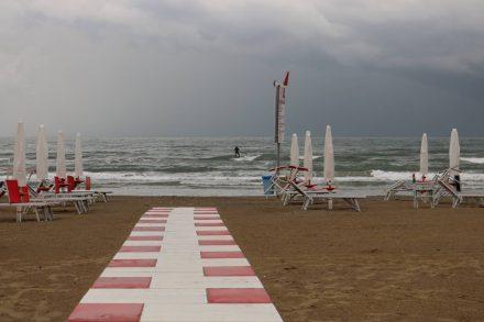 Wind und wilde Wellen sind des einen Leid, des anderen Freud.