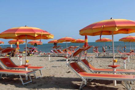 Riccione Strand