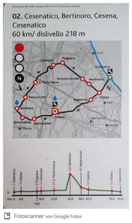Die übersichtliche Karte ist klein, informativ und perfekt zum Einstecken.