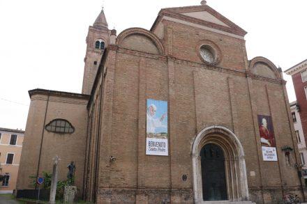 Die Kathedrale San Giovanni Battista in Cesena.