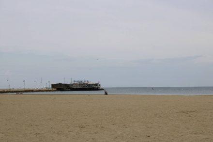 Das Pier-Restaurant in Rimini.