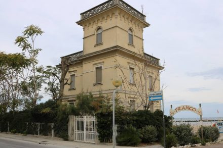 Immer entlang der Adriaküste durch verschiedene Ortschaften von Cesenatico bis Rimini.