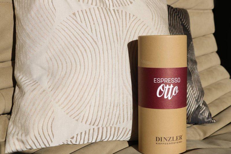 Schenke Genuss von der Kaffeerösterei Dinzler
