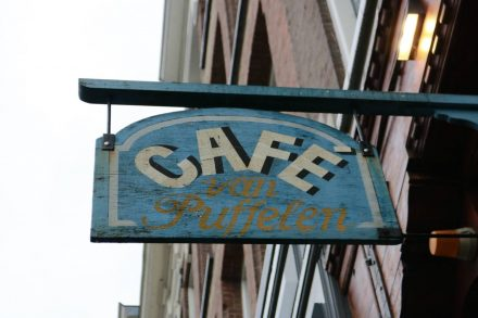Cafe van Puffelen in Amsterdam.