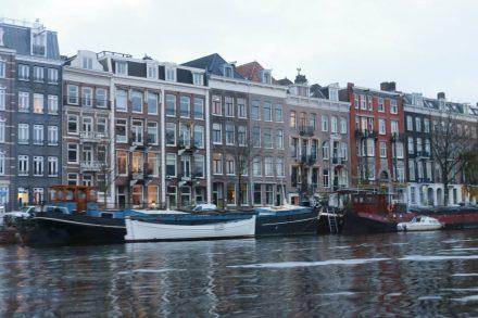 Besuch in der Weihnachtsstadt Amsterdam
