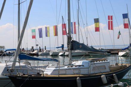 Der Segelhafen von Bardolino.