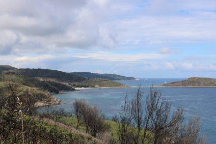 Bis zum Cap Taillat sind es rund 2,5 Stunden Gehzeit.