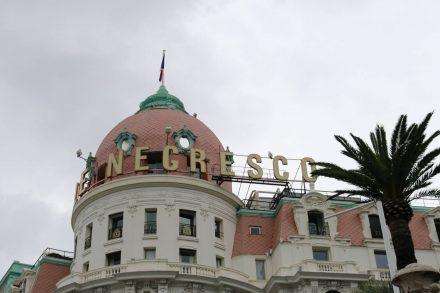 Die Kuppel des Hotels designte Gustave Eiffel.