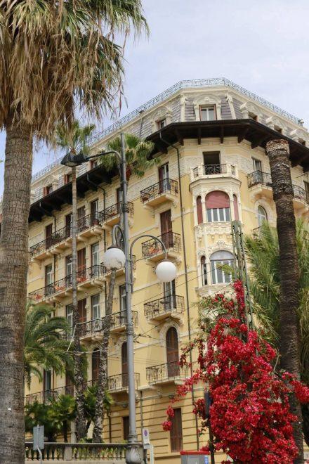 Manche herrschaftlichen Fassaden sind noch gut erhalten.