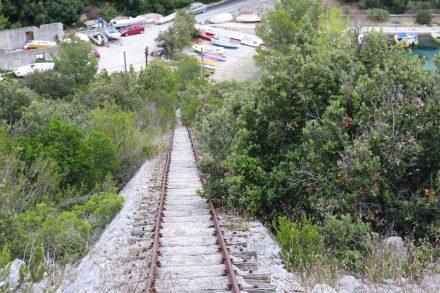 Bergab läuft es wie auf Schienen.