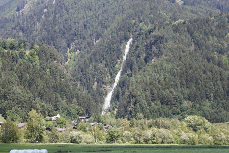 Wasserfall bei St. Johann im Walde im Iseltal.