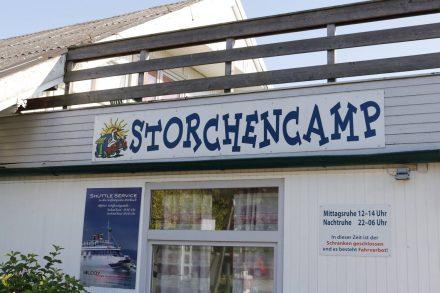 Der Campingplatz Storchencamp liegt direkt neben dem Seebad Rust und war echt angenehm.
