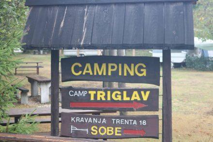 Der naturbelassene und gemütliche Campingplatz Triglav.