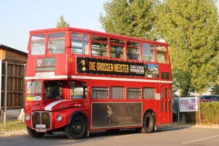 Ein absolutes Erlebnis war die Fahrt im Doppeldeckerbus mit Hansi am Steuer.