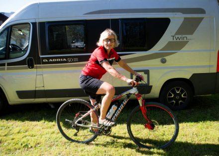 Camp & Bike – 5 Touren mit Wohnmobil und Fahrrad