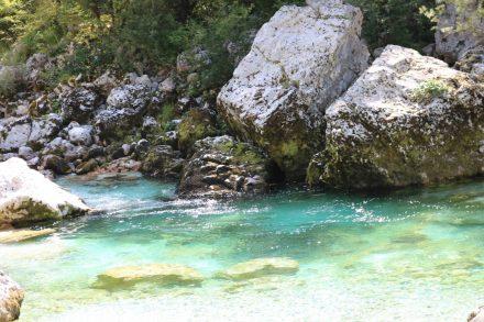 Glasklares Wasser und alle Türkistöne dieser Welt.