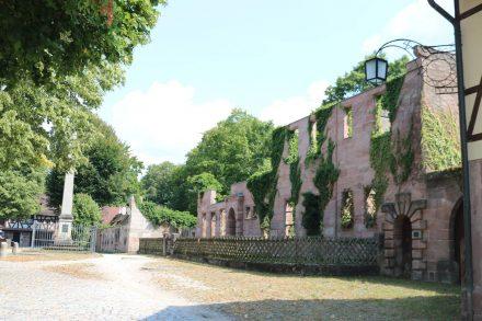 Auch die im zweiten Weltkrieg zerstörten Elemente von Hammer stehen unter industriegeschichtlichem Denkmalschutz.