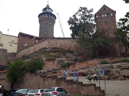 Die Nürnberger Kaiserburg - das Wahrzeichen der Stadt.