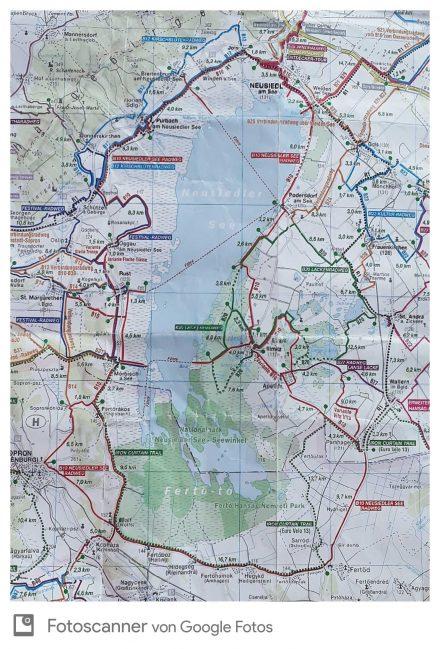 Die 130 km rund um den See lassen sich gut in zwei Etappen unterteilen.