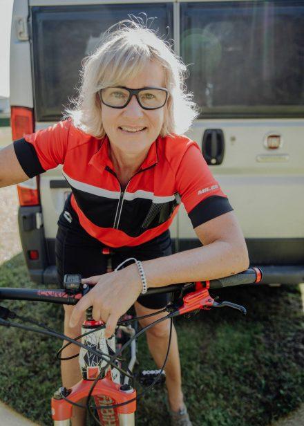 Start zur Radtour am Ducato.