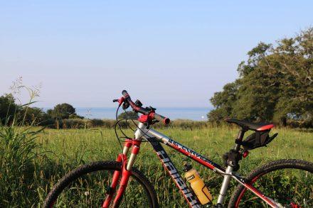 Früher Start zur ersten Biketour im Hinterland von Istrien.