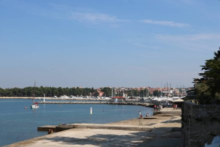 Die Marina von Novigrad.