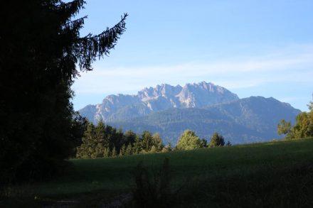 Der Trogkofel und der Gartnerkofel im Skigebiet Nassfeld.
