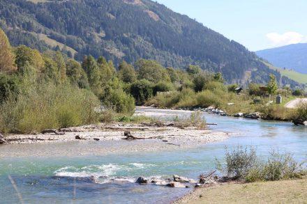 Eine wunderschöne Flusslandschaft im Lungau.