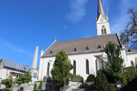 Die katholische Pfarrkirche im Herzen von Hermagor.