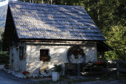 Die alte, liebevoll restaurierte Radniger Mühle.