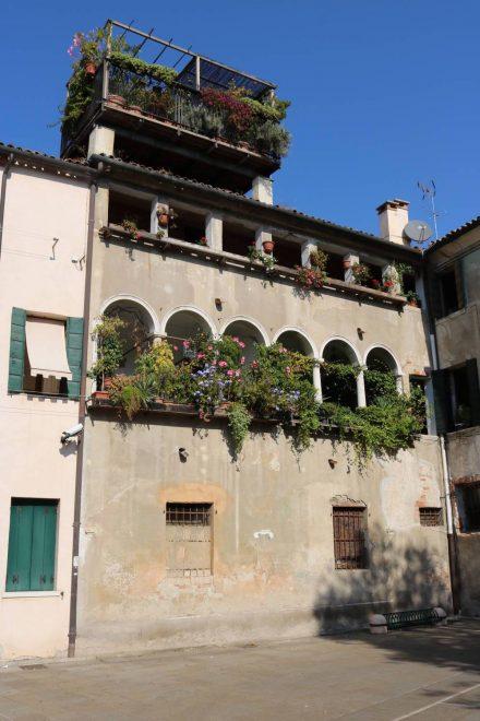 Treviso lebt mit seinen alten Häusern.