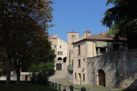 Das Castello di Monselice ist gut erhalten.