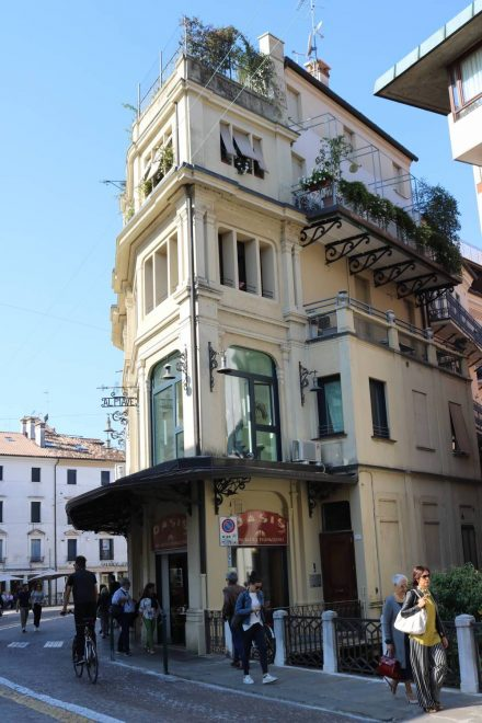 Mein Lieblingshaus in Treviso - besonders das oberste Stockwerk.
